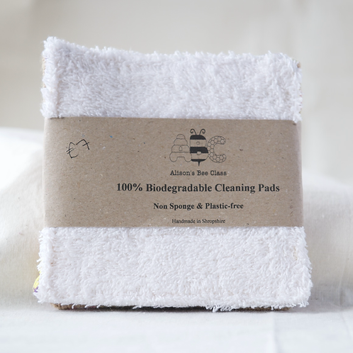 Biodegradable Cleaning Pads cotton and jute