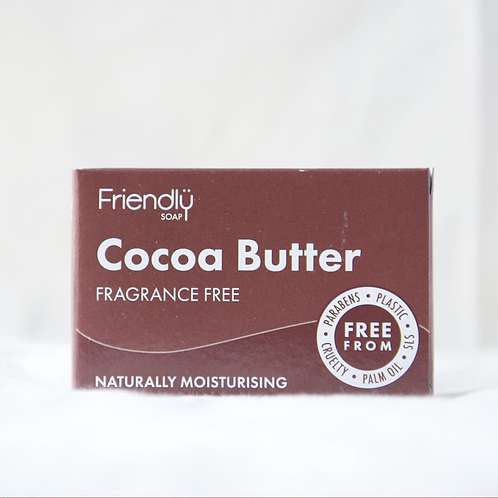 Friendly Cocoa Butter fragrance free soap