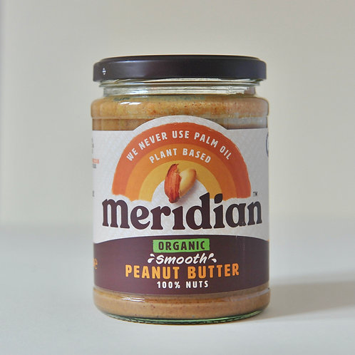 Peanut Butter Smooth Meridian 470g