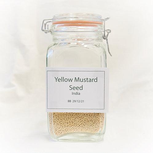 Yellow Mustard Seed  25g