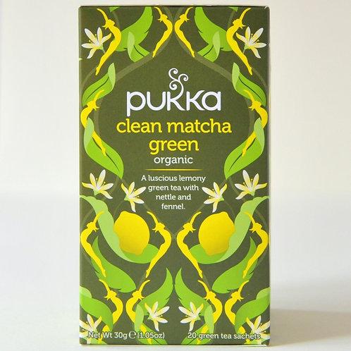 Clean Matcha Green Pukka Tea (20)