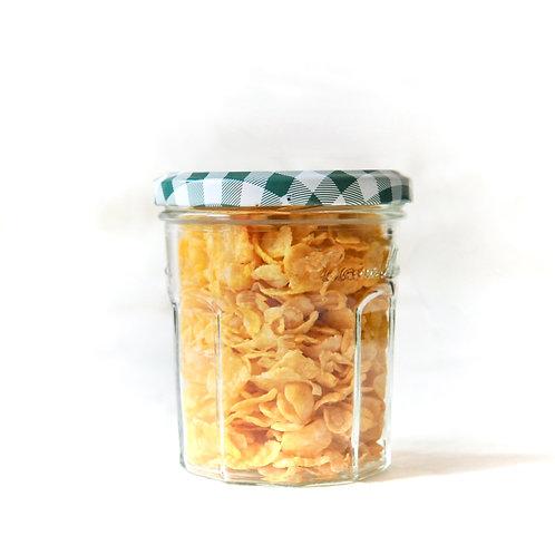Organic Crunchy Cornflakes per 100g
