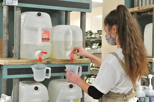 Bio D Sanitising Handwash, Lime and Aloe Vera per litre