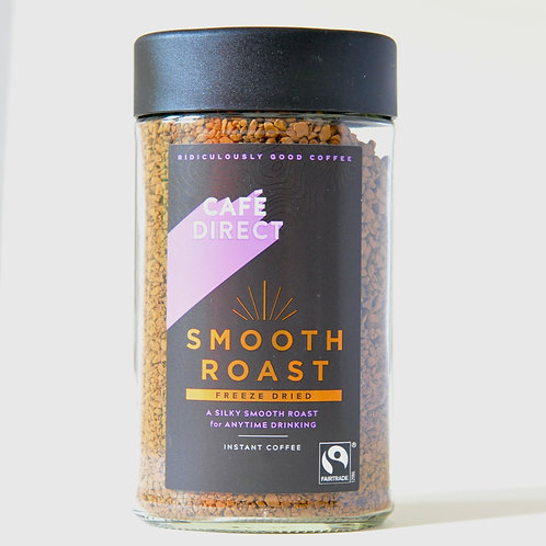 Smooth Roast Instant Coffee  Cafe Direct 100g