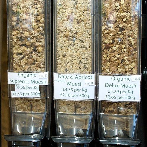 Date  & Apricot Muesli loose - per kilo