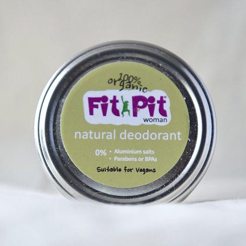 Fit Pit Woman Natural Deodorant large