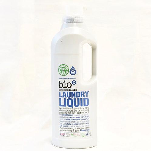 Laundry Liquid Bio D 1ltr (concentrated non bio)