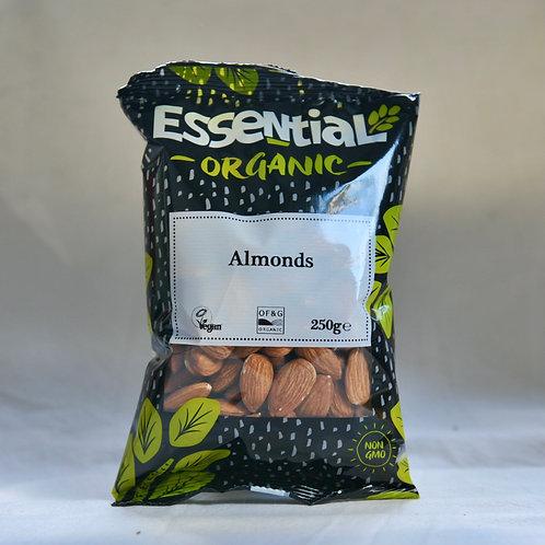 Whole Almonds organic 250g