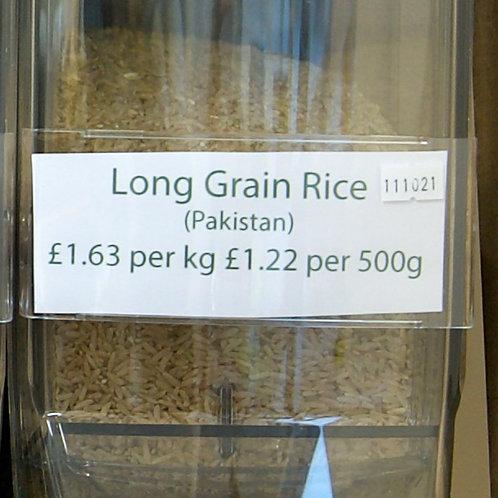 Long Grain Rice loose - per kilo
