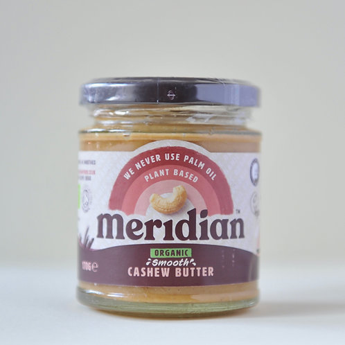 Meridian Smooth Cashew Butter 170g