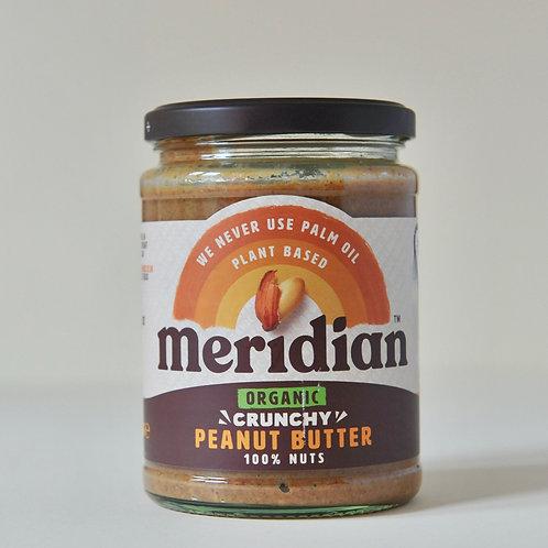 Peanut Butter Crunchy Meridian 470g