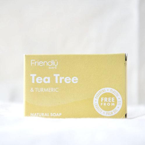 Friendly Tea Tree and Tumeric soap