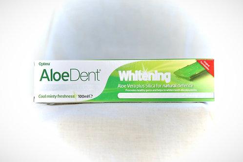 Aloe Dent Aloe Vera toothpaste (Whitening) 100ml (flouoride free)