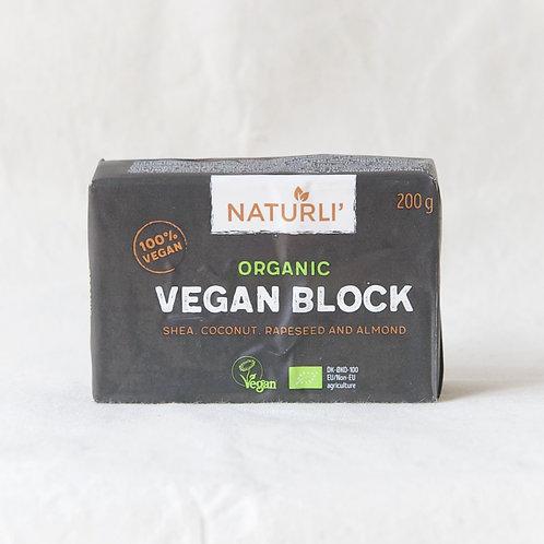 Vegan Block (Shea Coconut Rapeseed and Almond) 200g