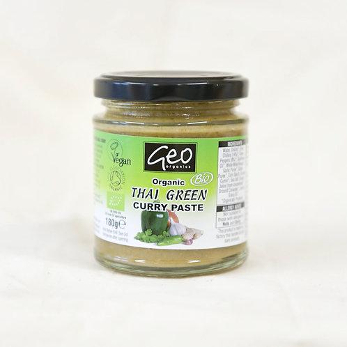 Geo Organics Thai Green Curry Paste 180g