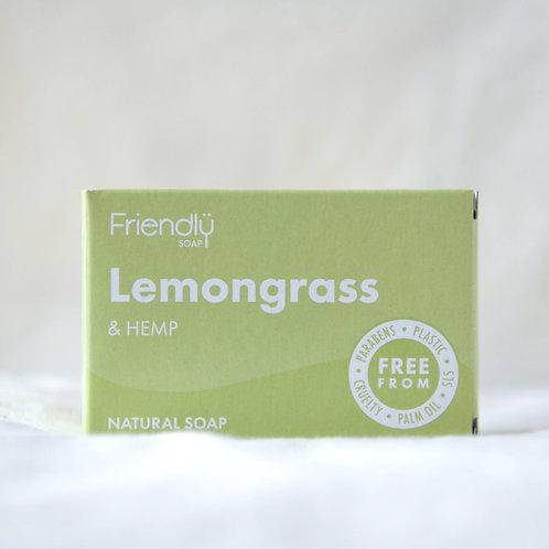 Friendly Lemongrass soap