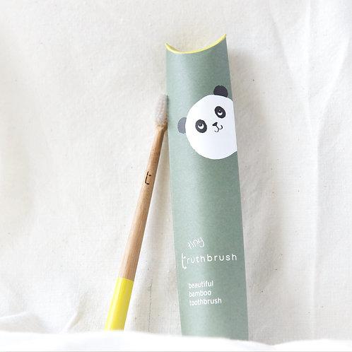Truthbrush Tiny beautiful Bamboo toothbrush