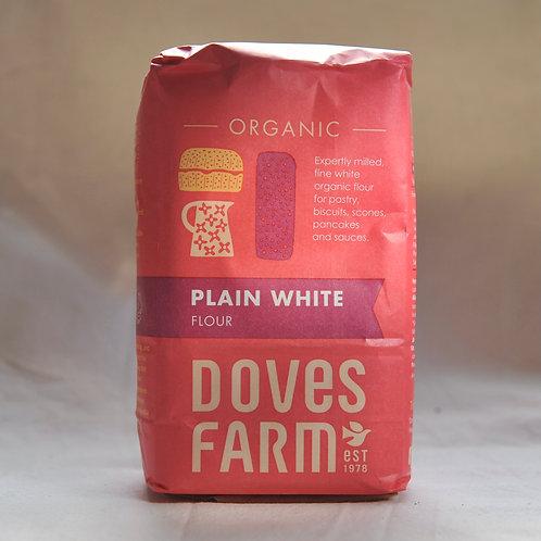 Plain White Flour, Doves Farm 1 kg