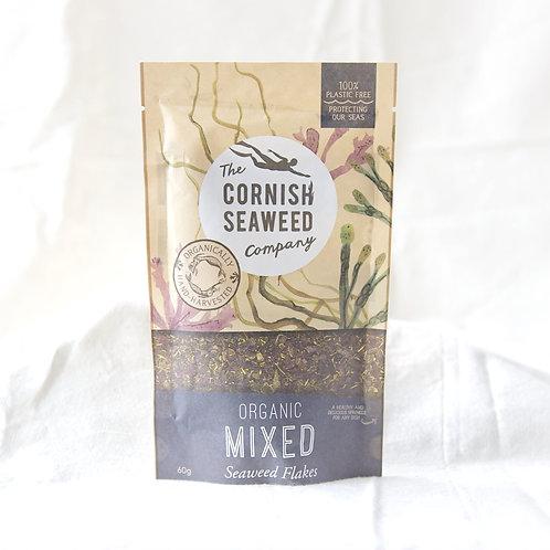 Cornish Seaweed Organic mixed Seaweed Flakes