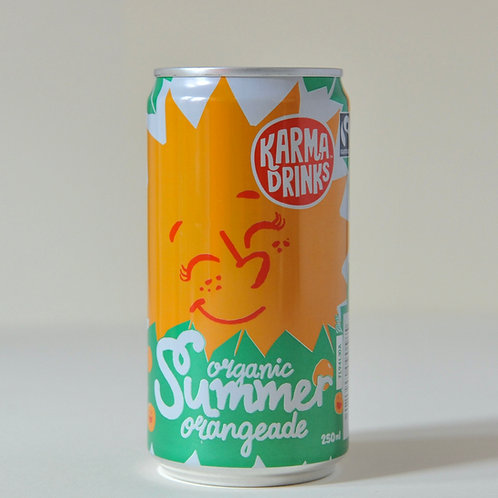 Summer Orangeade Karma Drinks  250ml