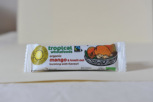 Tropical Wholefoods Mango and Brazil Bar 40g
