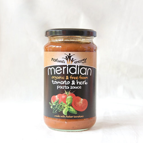 Tomato & Herb  Organic Pasta Sauce Meridian (free from)