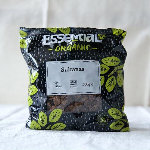 Essential Sultanas (Sunflower Oil) 500g