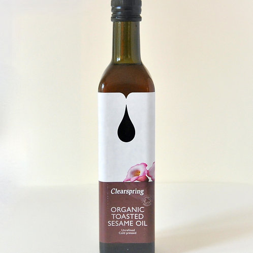 Toasted Sesame Oil Clearspring 500ml