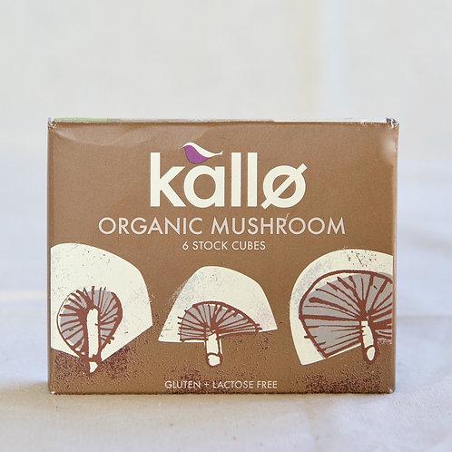 Kallo Stock Cubes - Mushroom