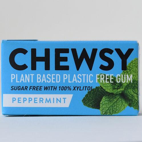 Chewsy Plant Based Plastic Free Gum Peppermint