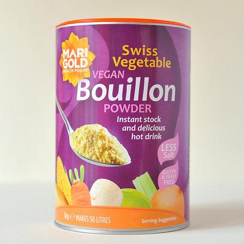 Marigold Vegan Bouillon Powder - Swiss Vegetable (gluten and yeast free)1kg