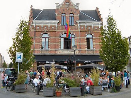 interieurarchitectuur voor café Den Draak