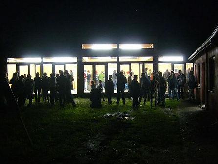 opening van het nieuwe scoutslokaal in Kalmthout