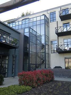 de ombouw van een chocoladefabriek naar luxe appartementen