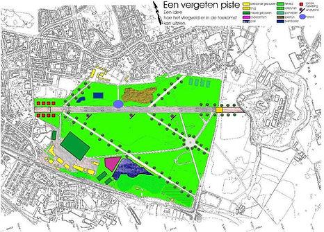 ontwerp piste Deurne vliegveld