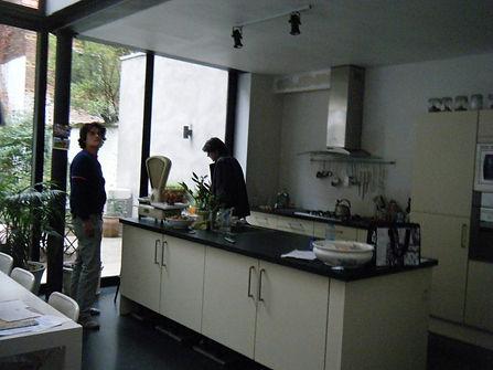 een open keuken voor meer ruimtelijkheid