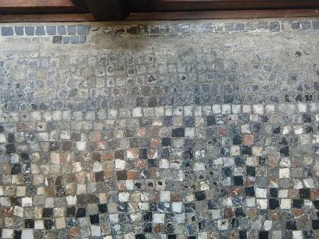 respect voor oude mozaiekpatronen