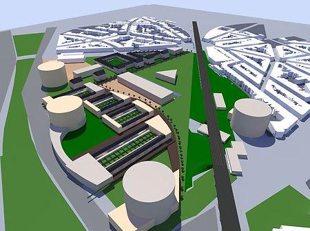 ontwerpproject stadsvernieuwing Nieuw Zurenborg