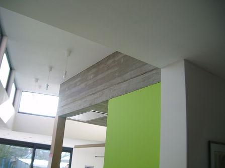 het behoud van beton in de nieuwe contructie