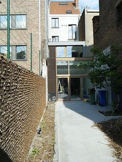 bescherming van de muren bij het betonstorten van de vloer