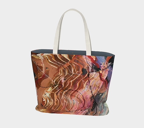 Summer of Love Extra large tote