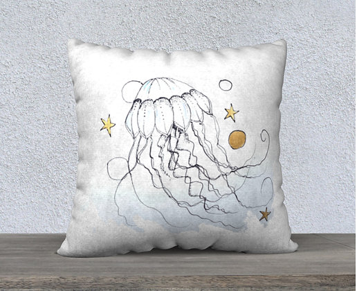 Jellyfish Now and Zen Cushion Cover