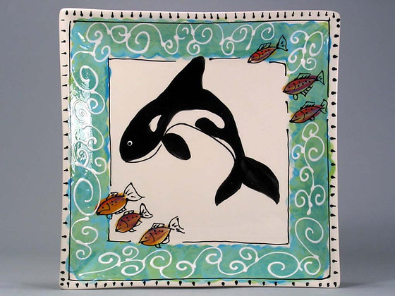 Orca 8 inch square