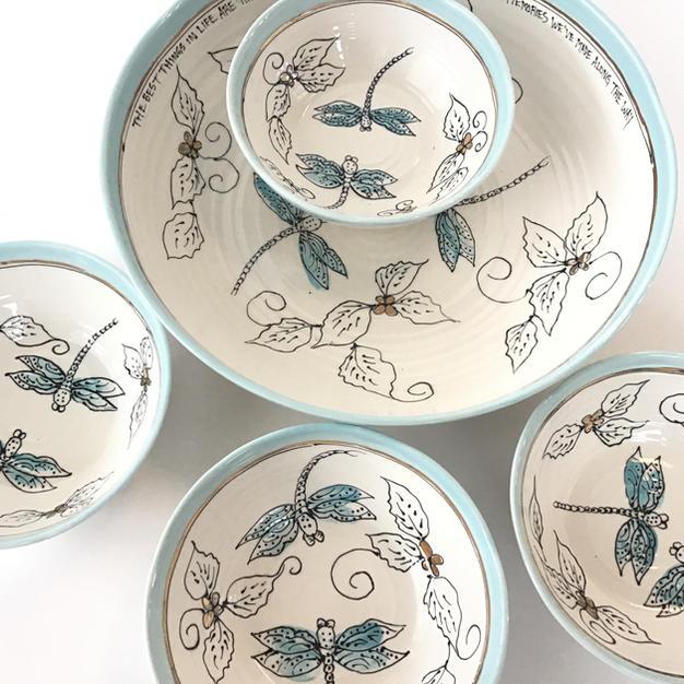 Dragonfly Pasta Set