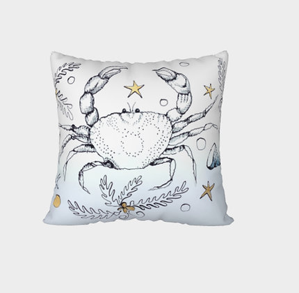 Solo Dungeness Crabs Now and Zen Cushion Cover