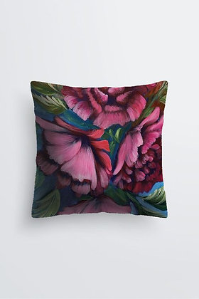Pink Peony Cushion Cover