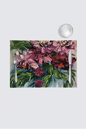 Pink Peony Placemat