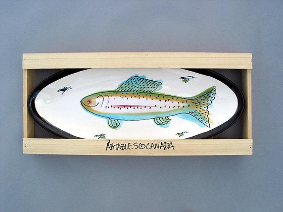 Rainbow Trout Medium Fish Dish