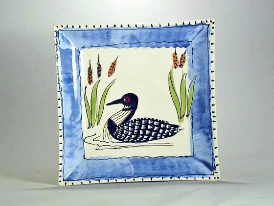 Blue Loon 10 inch square