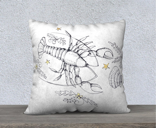 Lobster Now and Zen Cushion Cover